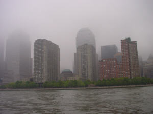 Foggy Manhattan